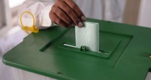 Polling Underway For By-elections on PP-168