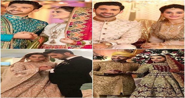 Glimpses of Aiman And Muneeb Wedding